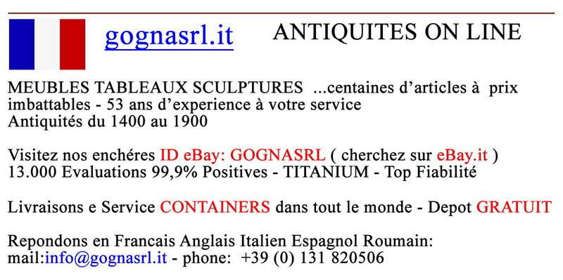 Meubles tableaux for Antiquariato on line