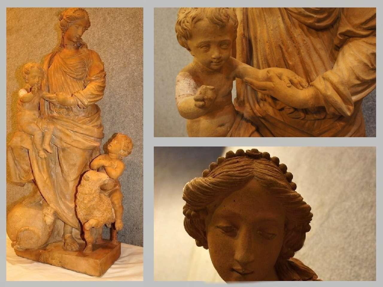 Giacomo Boselli scultura terracotta