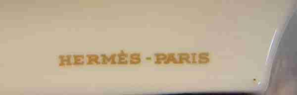 ceramica Hermes Paris con effigie del Marchese di Montcalm
