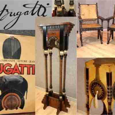 Arredi in pergamena firmati Carlo Bugatti