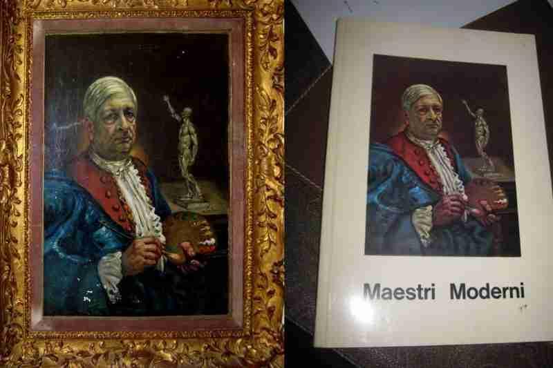 Giorgio de Chirico Autoritratto