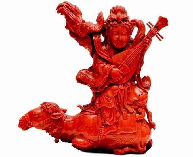 corallo rosso manifattura cinese