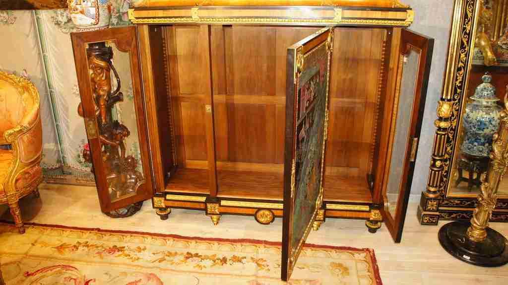 Cabinet paul sormani napoleone iii for Liquidazione mobili
