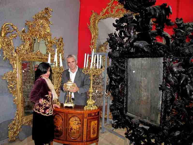 Andrea Brustolon specchiera veneziana intagliata