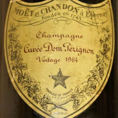 Dom Pèrignon 1964 champagne cuvèe dom pèrignon