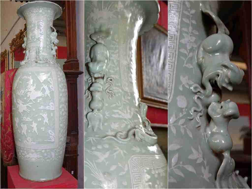 vaso cinese celadon