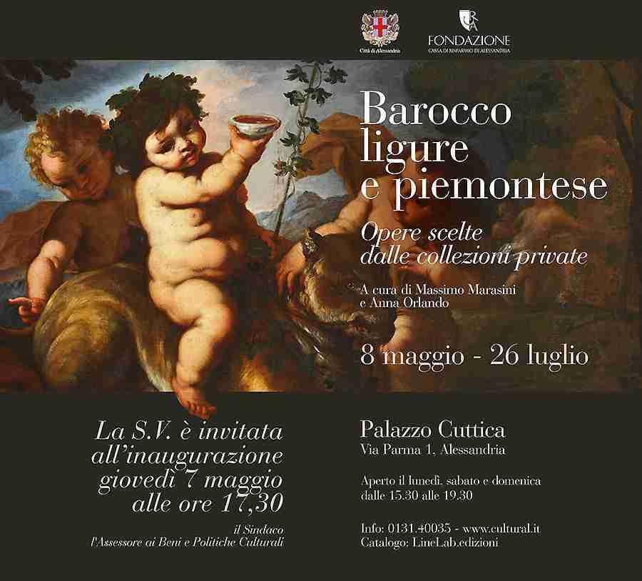 Barocco ligure e piemontese. Dipinti dalle collezioni private