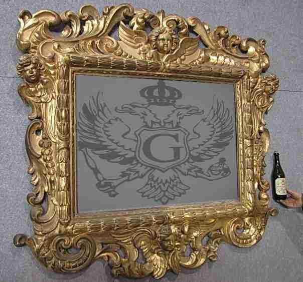 Specchiere antiche for Specchiera barocca