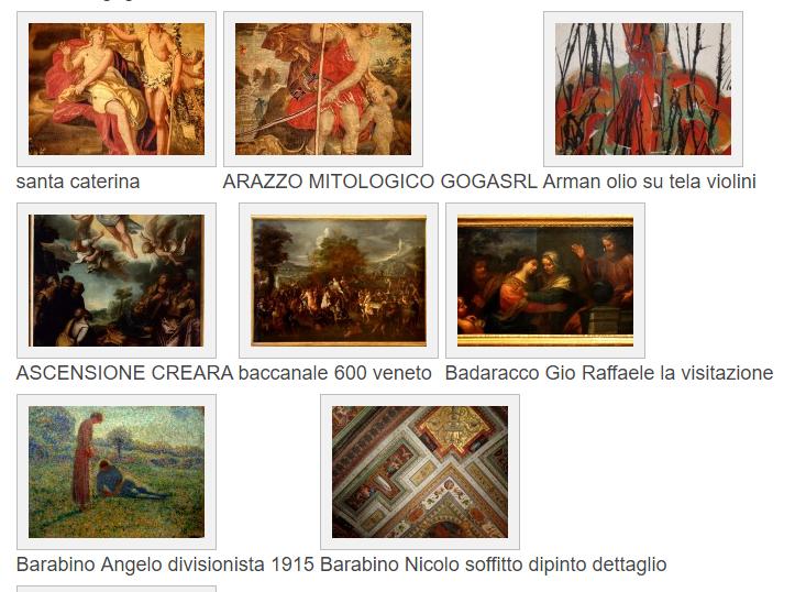 Galleria Dipinti attribuiti – valutazioni gratuite pittura antica