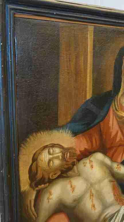 12 dipinto olio su tela