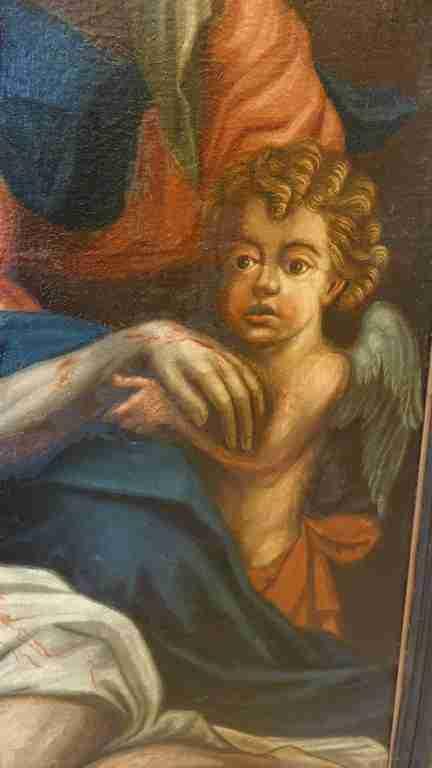 15 dipinto olio su tela