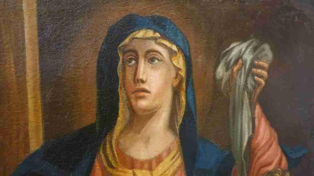 16 dipinto olio su tela