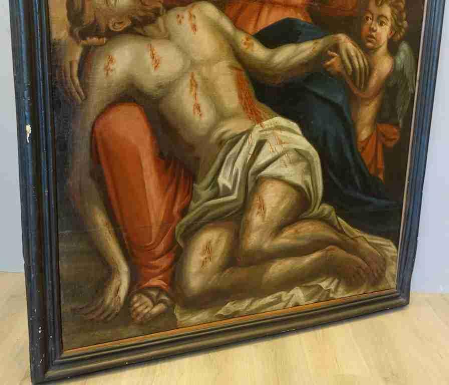 18 dipinto olio su tela