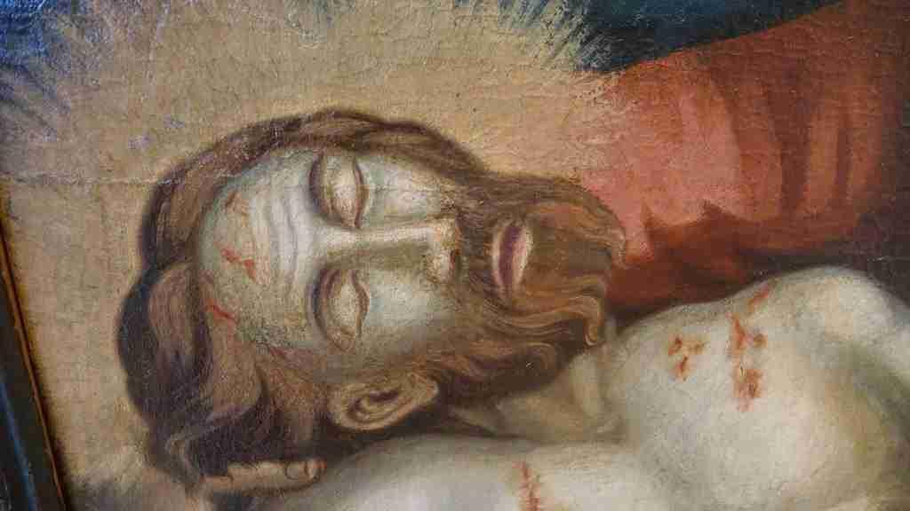 23 dipinto olio su tela