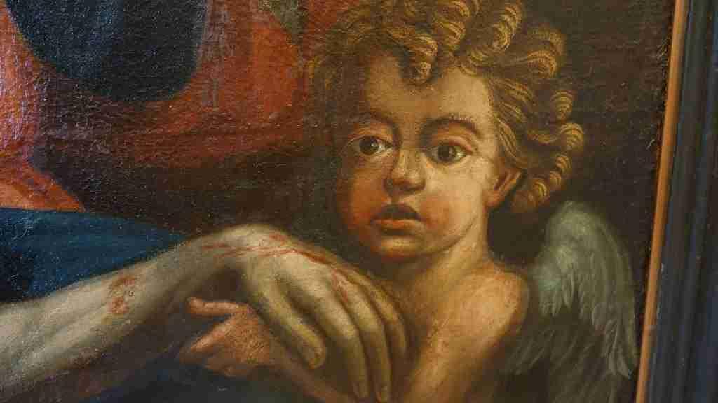 24 dipinto olio su tela