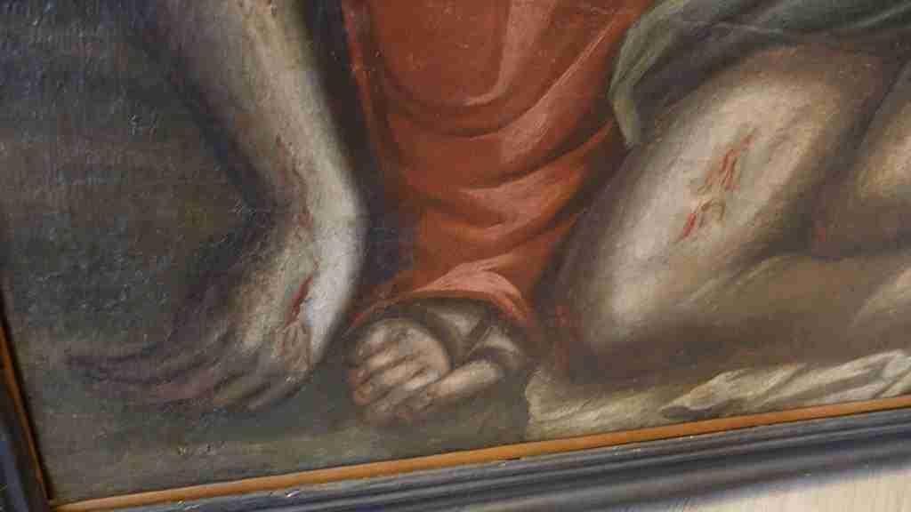 26 dipinto olio su tela