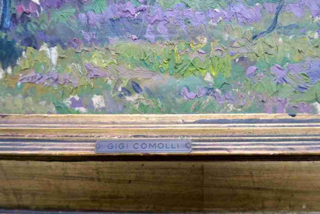 Comolli Gigi olio tela 50x50 4
