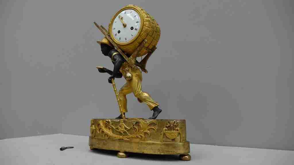 orologio bronzo dorato al mercurio 13