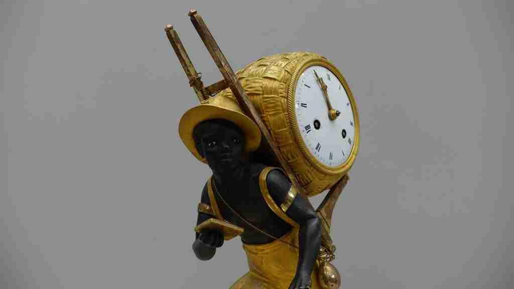 orologio bronzo dorato al mercurio 16