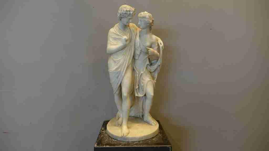 scultura marmo