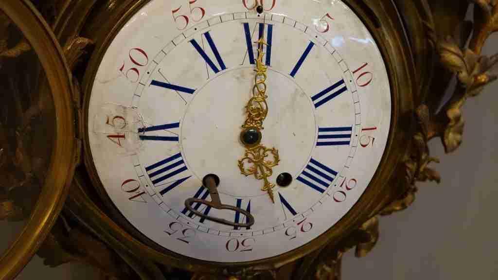 orologio bronzo dorato