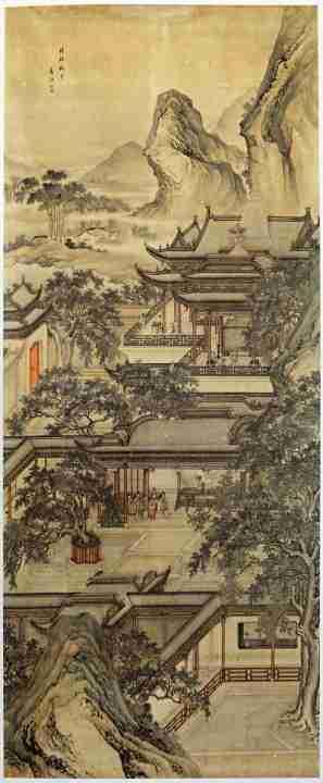 dipinto cina Yuan Jiang 1