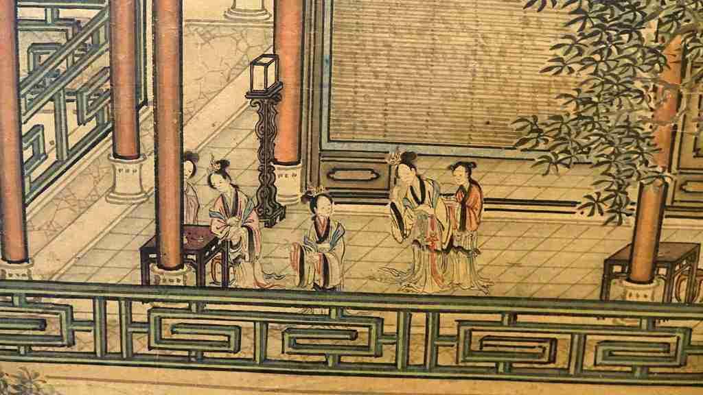 dipinto cina Yuan Jiang 10