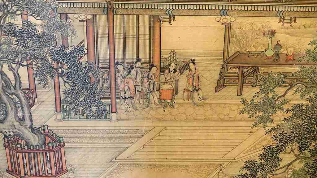 dipinto cina Yuan Jiang 11