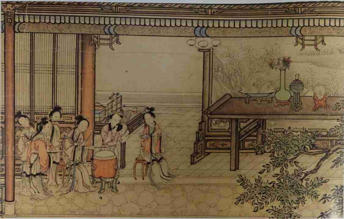 dipinto cina Yuan Jiang 2