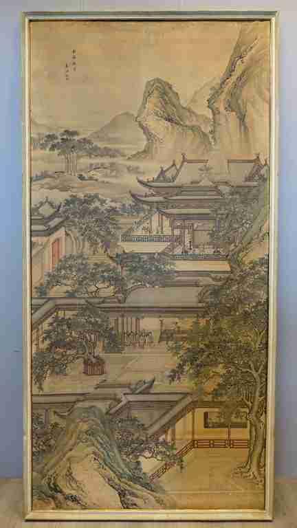 dipinto cina Yuan Jiang 4
