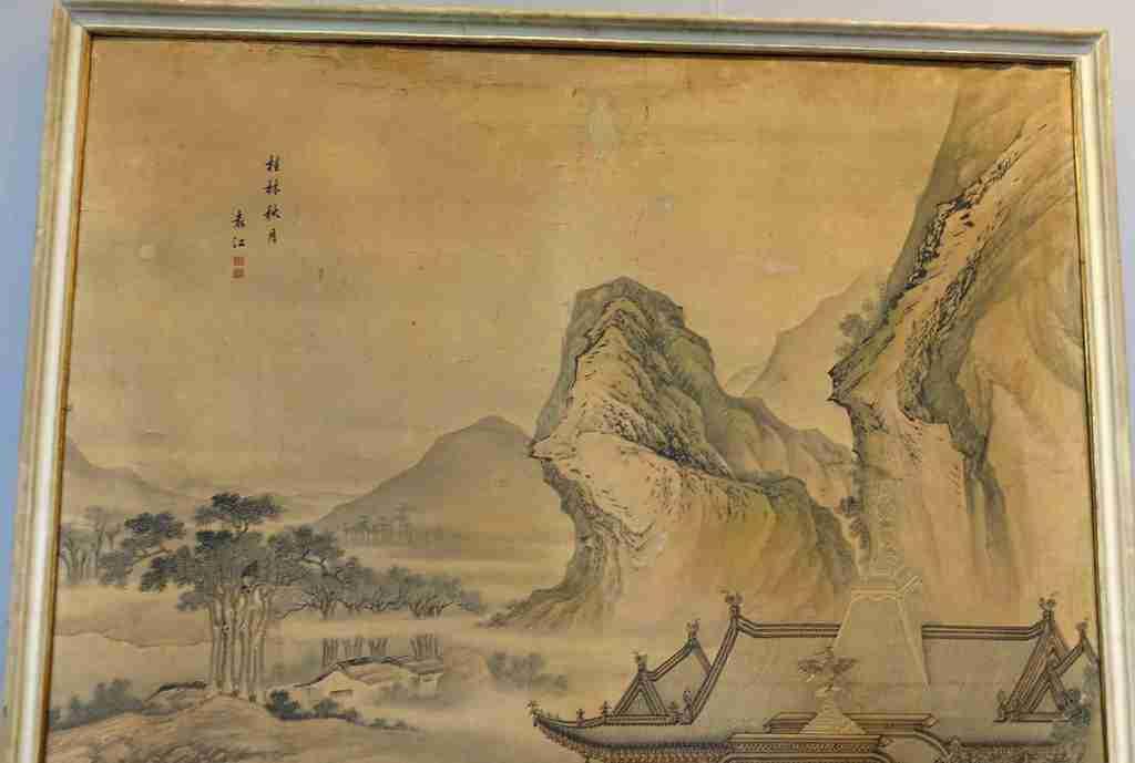 dipinto cina Yuan Jiang 5