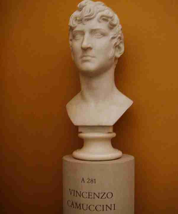 Camuccini Vincenzo busto