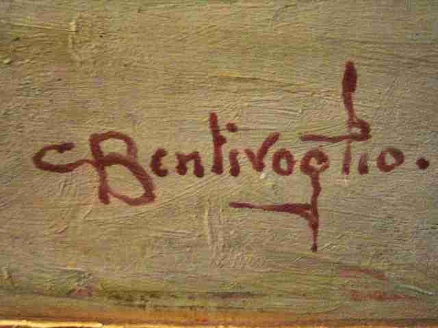 Firma Cesare Bentivoglio