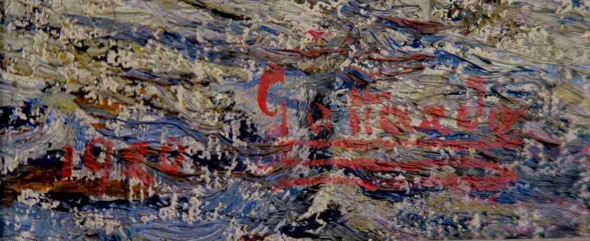 Segantini Gottardo 86x70 olio tela 3