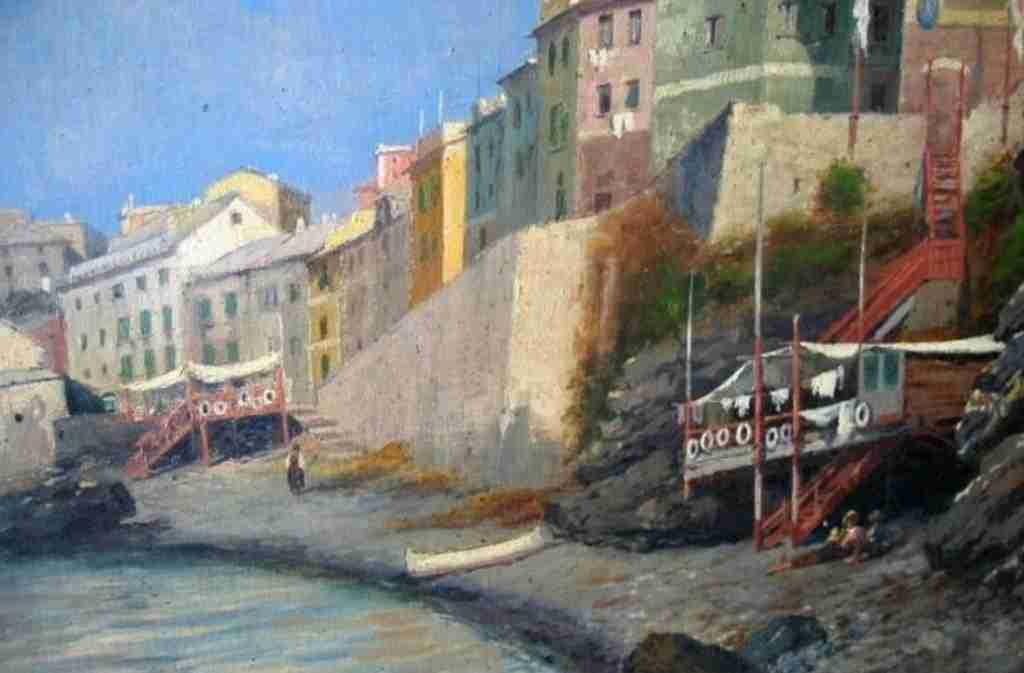 dipinto marina Calderara