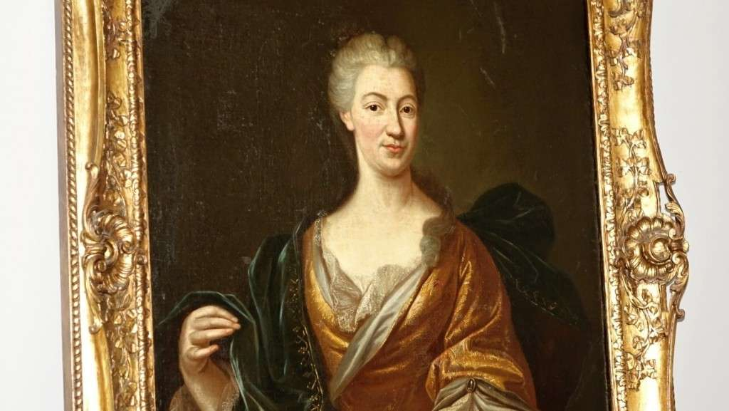 dipinto ritratto donna 3