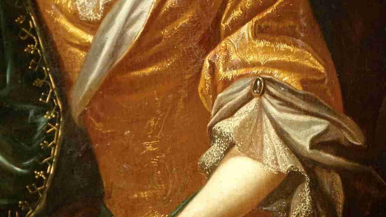 dipinto ritratto donna 9