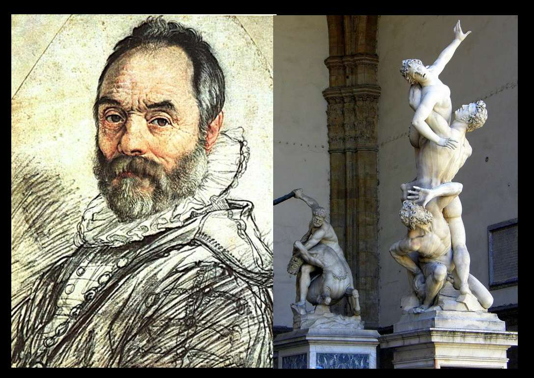 Scultura antica marmo Giambologna Jean de Boulogne
