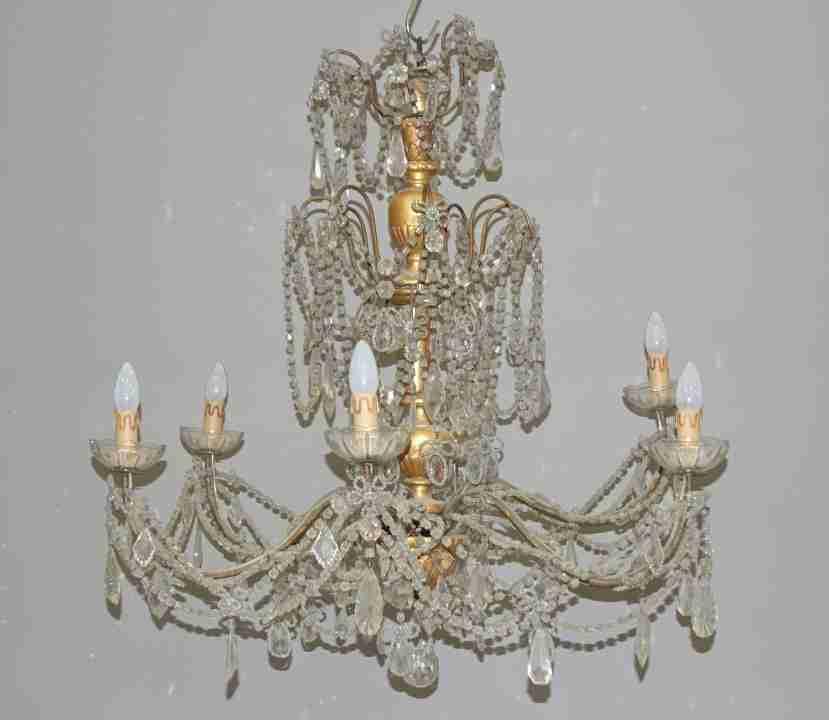 lampadario Luigi XVI Genovese 11