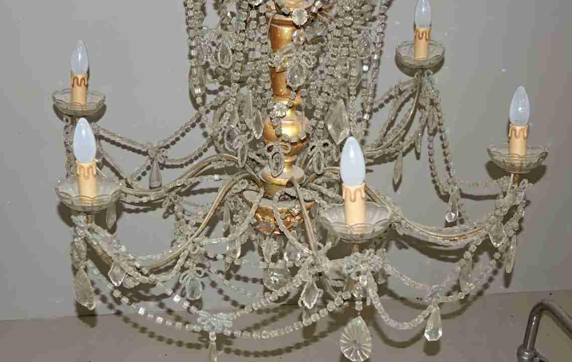 lampadario Luigi XVI Genovese 12