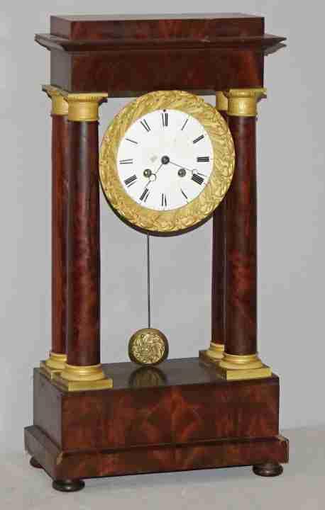 orologio impero bronzi 1