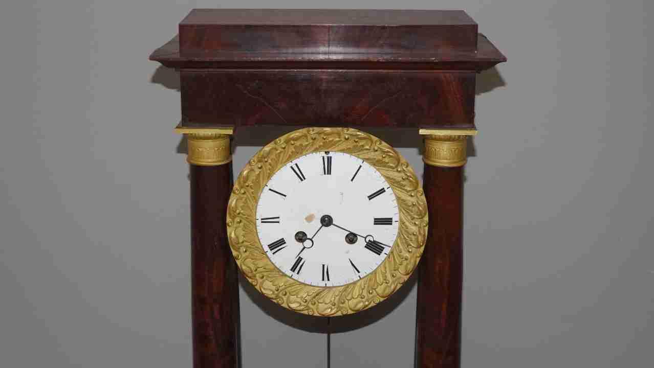 orologio impero bronzi 6