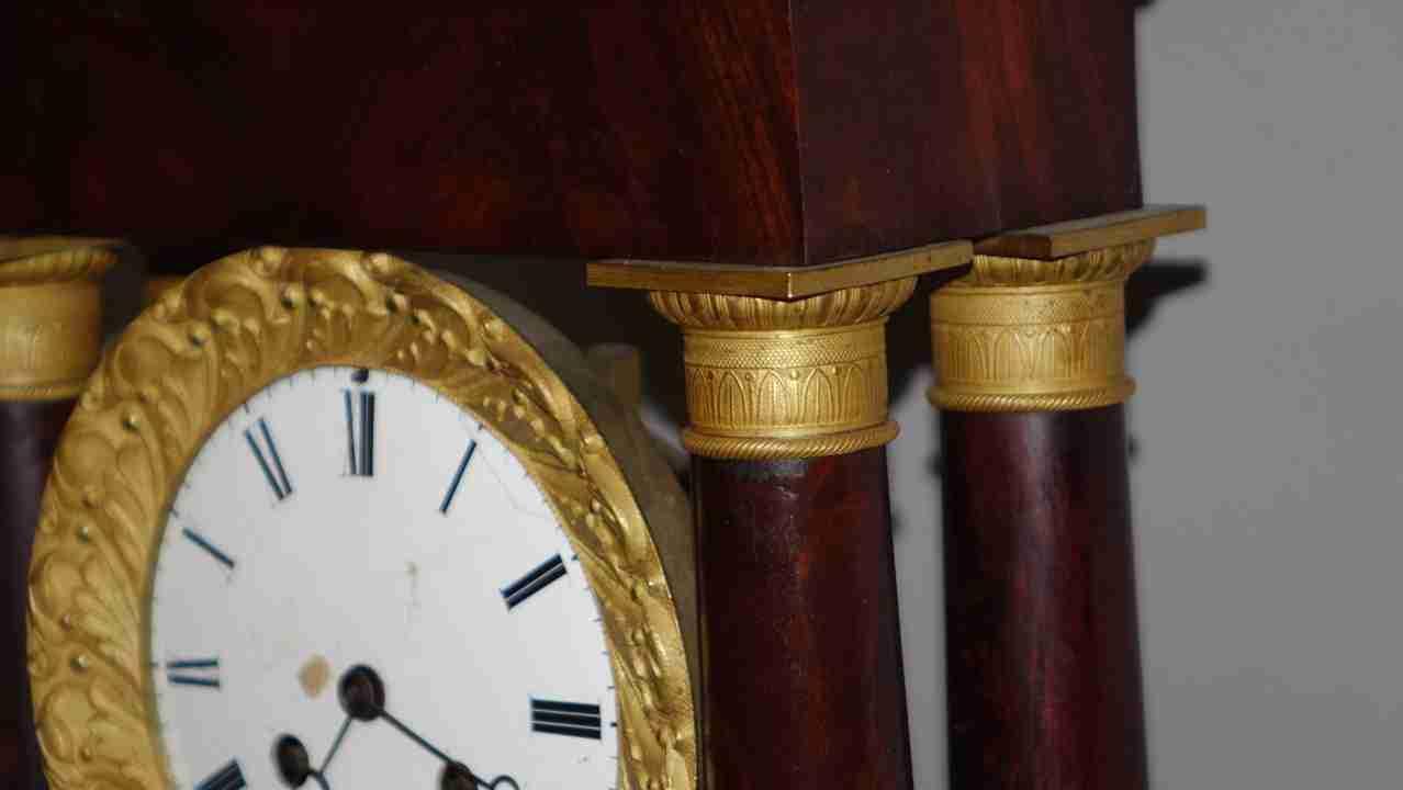 orologio impero bronzi 9
