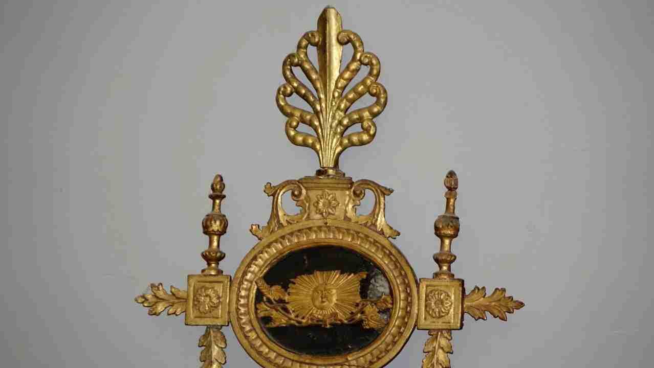 specchiera dorata neoclassica15