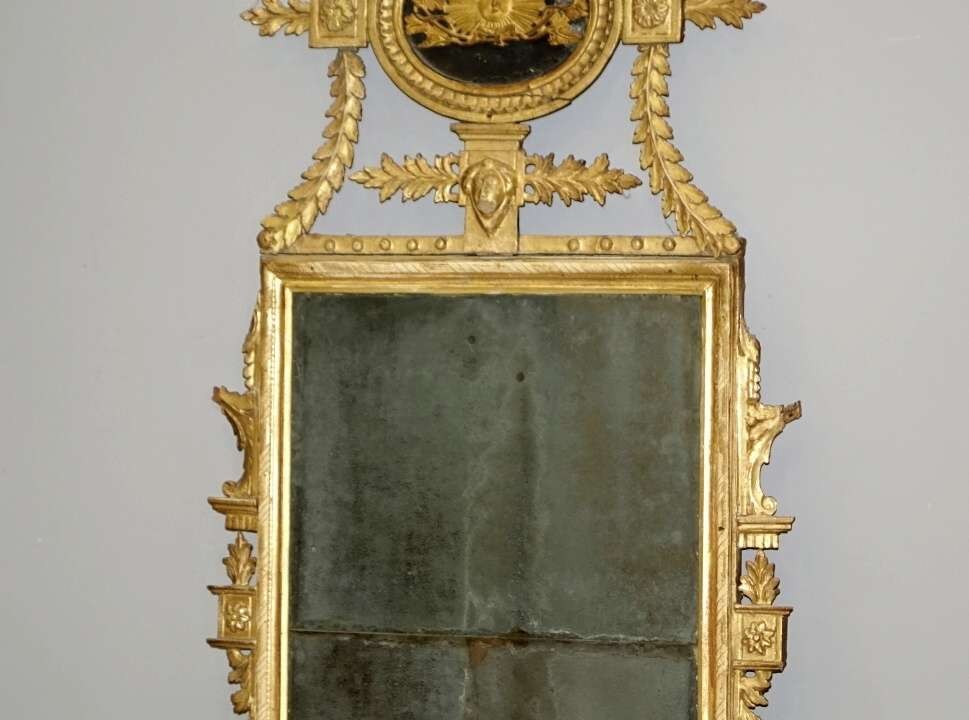 specchiera dorata neoclassica16