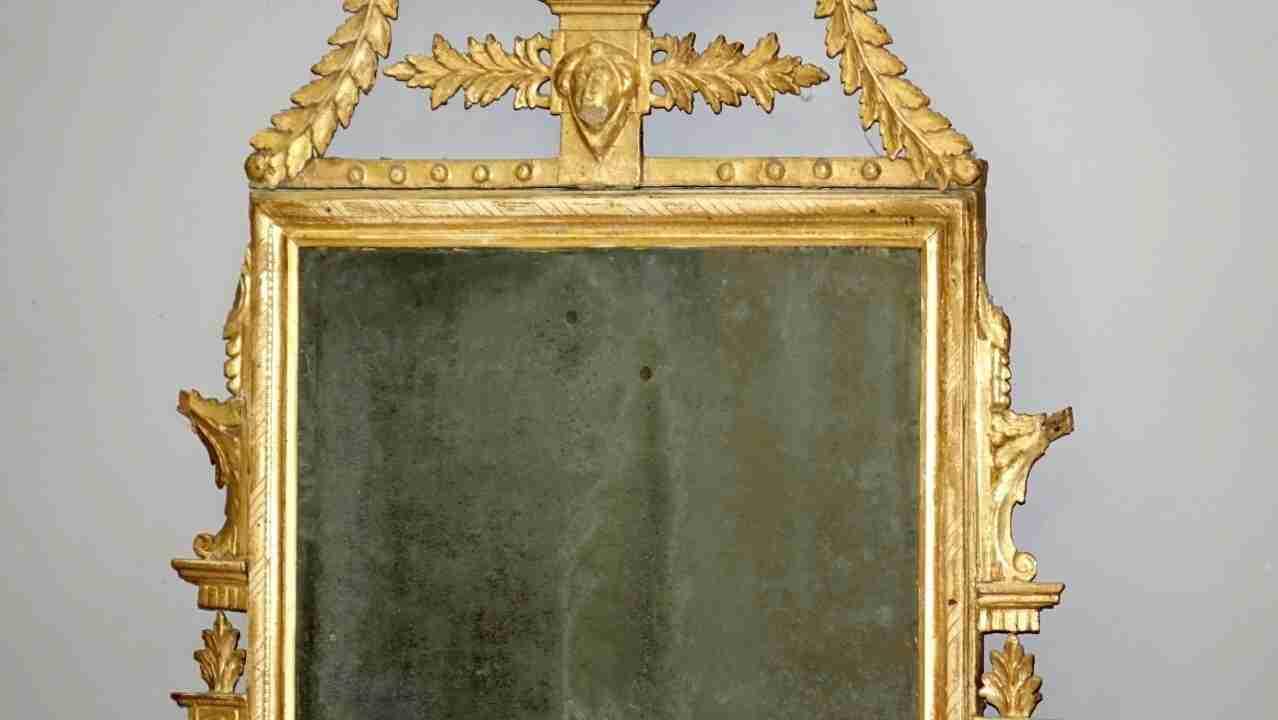 specchiera dorata neoclassica17