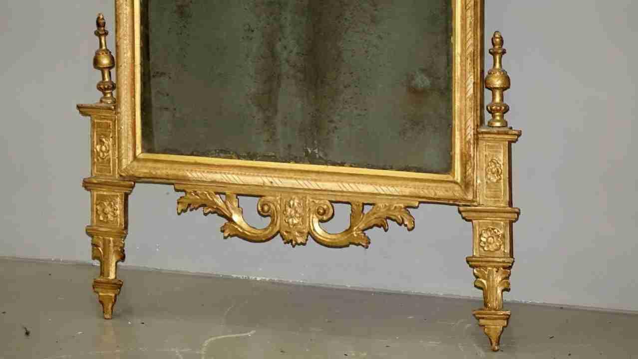 specchiera dorata neoclassica19