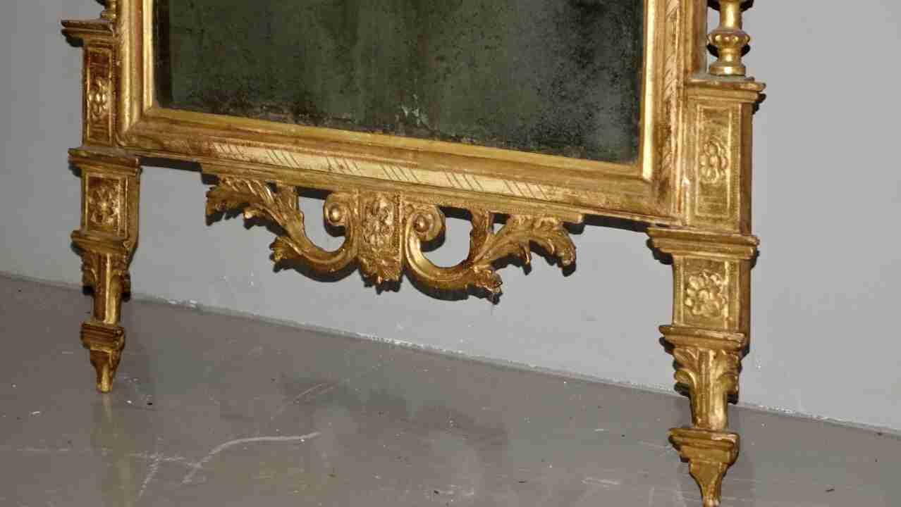 specchiera dorata neoclassica20