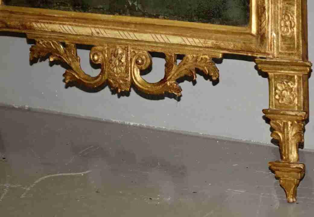 specchiera dorata neoclassica22