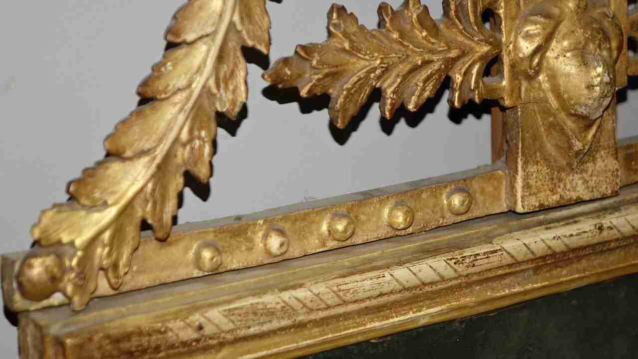specchiera dorata neoclassica24